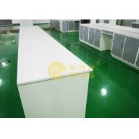 Quality Corrosion resistance chemistry lab countertops matte ssrface , lab worktops for sale