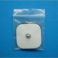 Buy cheap 4*4cm square conductive self adhesive electrode,silver fiber physiotherapy from wholesalers