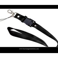 Cheap CMYK Submliamtion polyester lanyard strap with plastic buckle lanyard wholesale