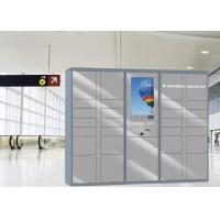 Buy cheap 24/7 Automated High Quality Steel Luggage Lockers With Intelligent Charging from wholesalers