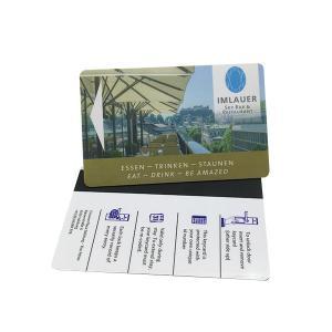 Cheap Magnetic Stripe RFID Hotel Key Card Door Lock Customized Printing wholesale