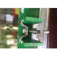 Cheap SS304 SS316 Steel Grating Clips , Eco M Clips For Fiberglass Grating wholesale