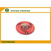 Cheap One Bund Custom Pure Ceramic Poker Chip Design Vivid Red For Supermarket wholesale