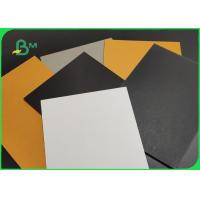 China High Hardness 1.5mm 1.8mm 2.0mm Uncoated Grey Paper Board For Making Boxes on sale