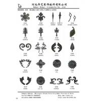 Offer Wrought Iron Weldable Cast Steel Flower and Leaaves