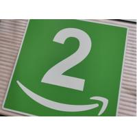 Cheap Custom Aluminum Room Number Signs Round Corner UV Resistant Printing For Office wholesale