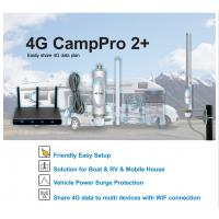 China Campro LTE 4G Signal Amplifier , Universal WiFi Range Extender Kit For Caravan on sale