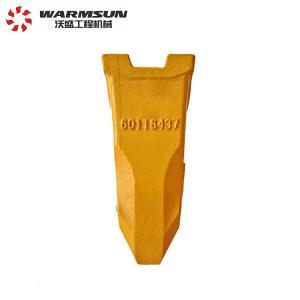 Cheap 12076804 Excavator Ripper Teeth , SY75.3.4.1-10 Rock Bucket Teeth wholesale
