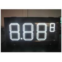 Cheap HD LED gas station price signs / gas electronics scoreboard With wireless controller wholesale