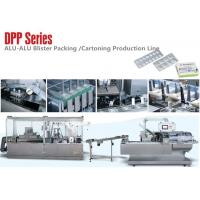 Cheap DPP Series Small Alu Alu Blister Packing Machine Carton Production Line for Medical Package wholesale
