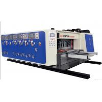 Cheap High Precision Carton Making Machine 15kw - 30kw With 20crmnti Alloy Steel Transmission wholesale