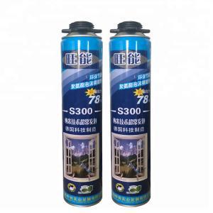 Cheap 900G 15kg/M3 B2 Fire Rated Polyurethane Foam White Color wholesale