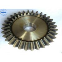 Cheap Left Hand Direction Brass Screw / Spiral Bevel Gear High Precision Transmission wholesale