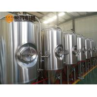 Buy cheap 600 L Bright Polished Beer Fermentation Tanks , Large Conical Fermenter from wholesalers