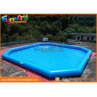 Cheap Puncture - Proof PVC Inflatable Water Pools / Home Yard Blow Up Swimming Pool wholesale