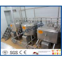 Cheap 5000L/H Milk Production Plant /Beverage Processing Equipment With Bottle Package wholesale