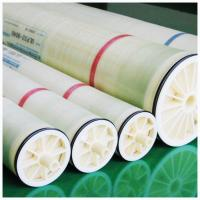 China Durable White RO Water Filter Membrane 4040/8040 98%-99.5% Salt Rejection on sale