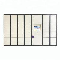 Cheap Assembled Package Delivery Lockers , Community / Office Personal Parcel Locker wholesale