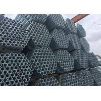 Cheap Carbon Steel Galvanize S235JR Welded Steel Round Tubing , Mechanical Seamless Steel Tubing wholesale