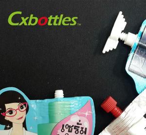 Colorful Food Grade Plastic Spout Caps PE Material with 9.6 Millimeter Dia