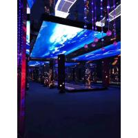 Buy cheap Full Color Indoor Led Window Screen , Video Advertising Screen Al Die Casting from wholesalers