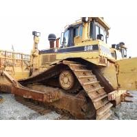 China D8R Used CAT Bulldozer , CAT 3406C Engine Old Caterpillar Dozers 328HP Original Color on sale