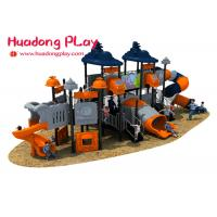 Cheap Preschool Eco Friendly Plastic Outdoor Playground Structures Long Time Warranty wholesale