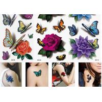 Cheap Women's Flower Temporary Fashion Tattoos Sticker Long Lasting Tattoo Sticker wholesale