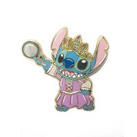 Buy cheap Customized Colorful Cartoon Hard Enamel Lapel Pins Badge With Gold Plating from wholesalers