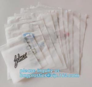 Cheap Plastic Slider Bag EVA PE OPP Bio Degradable Slider Zip Packaging Tshirt Swimwear wholesale