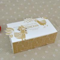 Cheap Logo Printed Popcorn Chicken Box , Disposable Paper Box For Fast Food wholesale