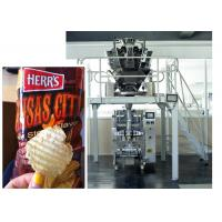 Cheap Potato Chips / Cookies / Puffed Food / Snacks / PE Sachet Packing Machine With Back Sealing wholesale