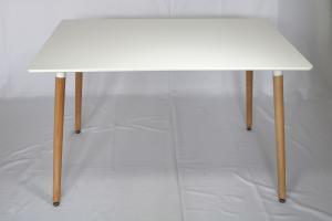 Cheap 120×80×74cm OEM Rrectangle Modern Wood Dinning Table wholesale