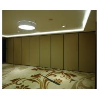 Cheap Laminate Movable Partition Wall , Full High Operable Sliding Room Partitions wholesale