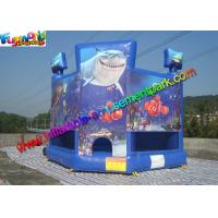 Cheap OEM Outside Small Inflatable Commercial Bouncy Castles With PVC tarpaulin wholesale