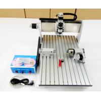 Cheap 6040 CNC Router Benchtop CNC Milling Machine With Air Cooling / CNC Wood Cutting Machine wholesale