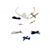 Cheap Airplanes And Cloud Unscented ODM Felt Decoration wholesale