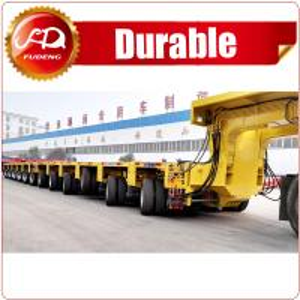 Cheap Heavy Duty 200-500 Tons Self-Propelled Modular Transporter Lowbed Semi Trailer wholesale