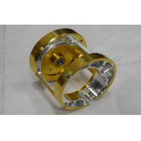 Cheap Professional  Custom Precision CNC Machining Services Gold Anodized For lights , toys wholesale