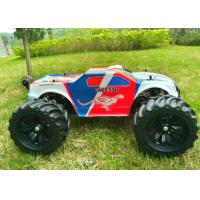 Buy cheap Brushless 4WD Electric RC Car / Monster Wheel 4X4 RC Truck Metal Chassis from wholesalers