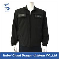 Cheap Waterproof Black Military Tactical Shirts For Security Guards for sale