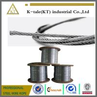 Cheap 1x7 thin 304 stainless steel wire Rope wholesale
