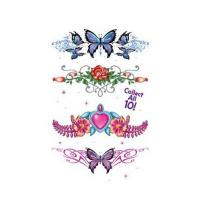 Custom Printed Designs Temporary Tattoo Sticker Hand Decoration Skin Safe