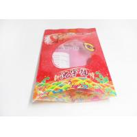Heat Sealable Flat Bottom Stand Up Plastic Bags For Food Packaging , Snack