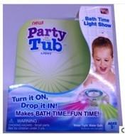 China NEW As seen on TV Party in the Tub Kids Bath Funny LED Light Make Bath Time FUN on sale