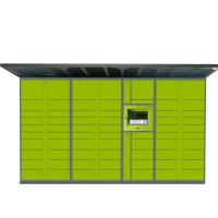 "Cheap Electronic Parcel Delivery Locker Steel Material With 22 "" LCD Touch Screen wholesale"