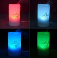 Cheap Rainbow LED Humidifier Purifier Ultrasonic Aroma Air Diffuser Misk Maker For Home Office wholesale