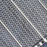 Cheap Stainless Steel Conveyor Belt Mesh|SS304/316 with Pitch 15.9 to 76.2 mm wholesale
