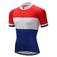 Buy cheap Short Sleeve Custom Club Cut Bike Jersey With European Sizing from wholesalers