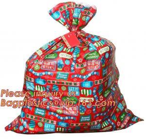 Cheap Food Grade Christmas Gift Bags Red Sack Plastic Jumbo Bike Gravure Printing wholesale